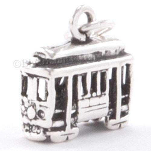 OutletBestSelling Beads Bracelet Cable CAR Charm SAN Francisco Street California Pendant Sterling -
