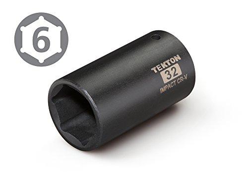 TEKTON 4932 1/2-Inch Drive by 32 mm Deep Impact Socket, 6-Point by TEKTON (Image #1)