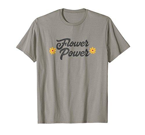 Flower Power Shirt - Retro Hippie Shirt - 70s Costume Shirt
