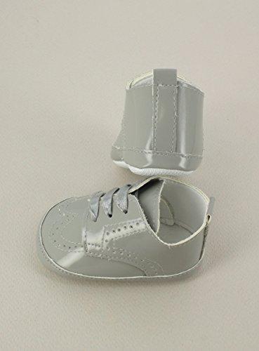 Boutique-Magique Schuhe Zeremonie Baby Hochzeit Taufe–Produkt Gespeichert und verschickt Schnell seit Frankreich Gris