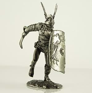 Soldados de estaño. Gladiador secutor. Colección de 54mm de figuras militares.