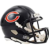 Riddell Chicago Bears Revolution Speed Mini Football Helmet - Fanatics Authentic Certified - NFL Mini Helmets