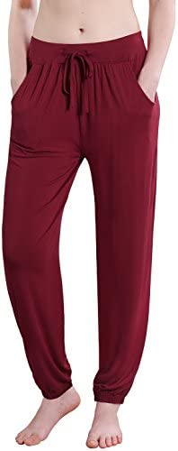 Vislivin Women's Stretch Knit Pajama Pants Modal Sleep Pant