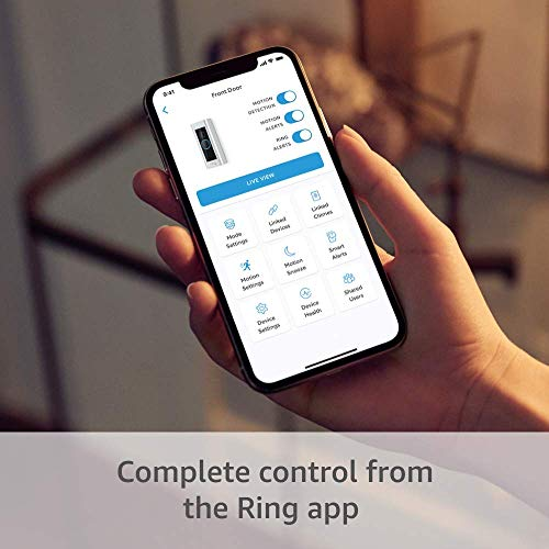 Certified Refurbished Ring Video Doorbell Pro, with HD Video, Motion Activated Alerts, Easy Installation (existing doorbell wiring required)