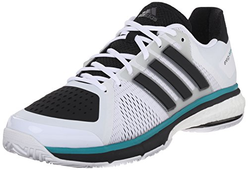 Adidas Performance Energy Boost Tennisschoenen Wit / Zwart / Transparant Onix Grijs