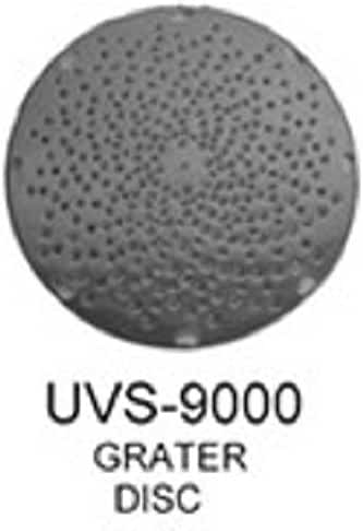 Uniworld Stainless Steel Grater Disc for UVS-9DH and UVS-922DH Shredder/Grater Attachment. Model UVS-9000