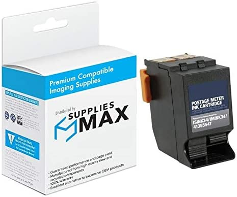 413555T SuppliesMAX Compatible Replacement for Hasler IM-330//480 Red High Yield Inkjet 19500 Page Yield