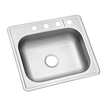 Charmant Glacier Bay 23 Gauge Single Bowl Kitchen Sink 621 763
