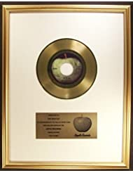 The Beatles Let It Be 45 Gold Non RIAA Record Award Apple Records