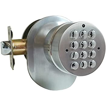 Sohomill Yl 99 Electronic Door Knob Spring Latch Lock