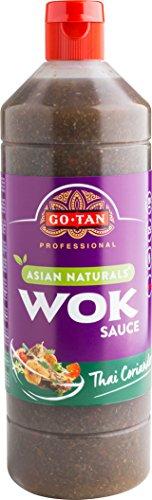 Go-Tan originele Wok Thaise koriandersaus, 1 liter, 6 stuks