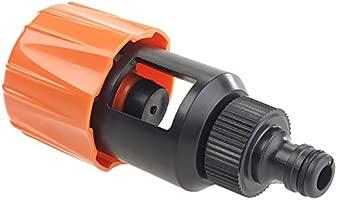 Universal para Grifo Mezclador de Cocina Manguera de jard/ín Adaptador de Conector para grifos de 1// /Abrazaderas Clip