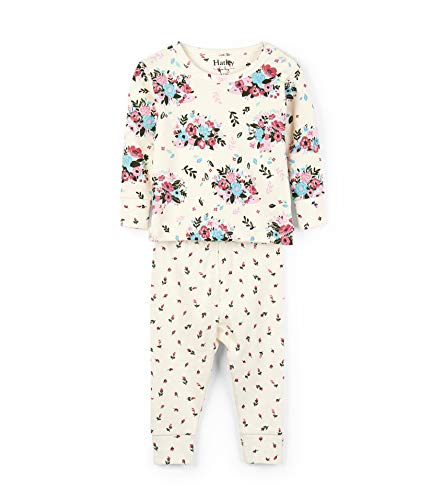 a67de36da Hatley Baby Girls Organic Cotton Long Sleeve Mini Pajama Sets ...