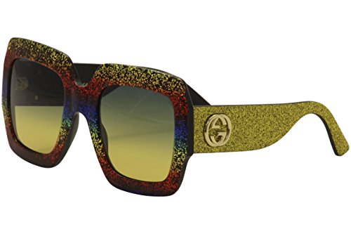 Sunglasses Gucci GG 0102 S- 005 MULTICOLOR / GREY - Gucci Sunglasses