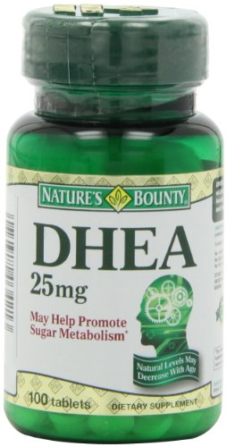 Natures Bounty DHEA 25mg Tablets