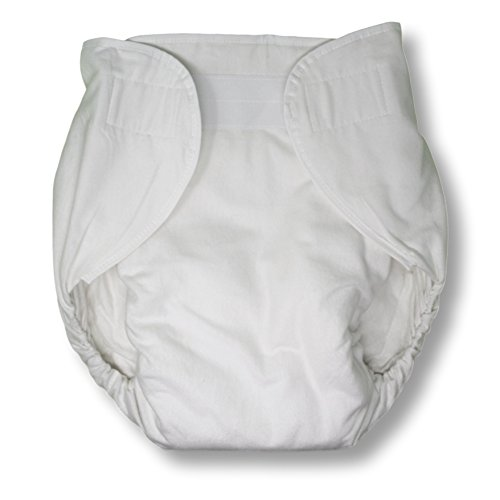 Rearz - Bulky Fitted Nighttime Cloth Diaper (White) (Medium/Large) ()