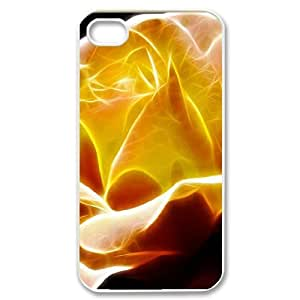 Love the flower series 4 2 iPhone 4/4s Case White BY BYS DESIGNS