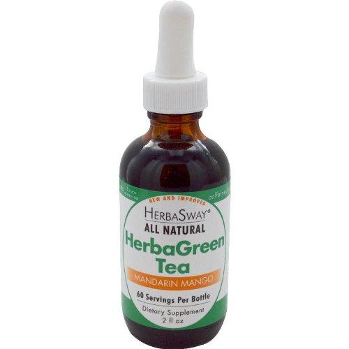 Herbasway Herbagreen Tea, Mandarin Mango, 2 Ounce For Sale