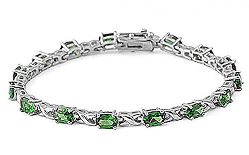 Infinity Emerald Bracelets (7.5