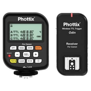 Phottix Odin TTL Flash Trigger/Receiver Kit for Canon