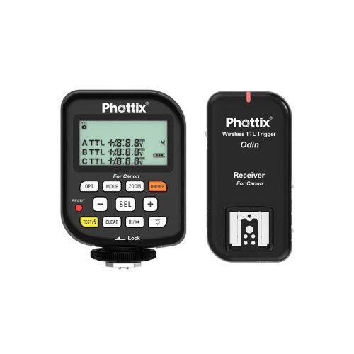 Phottix Odin TTL Flash Trigger/Receiver Kit for Canon by Phottix