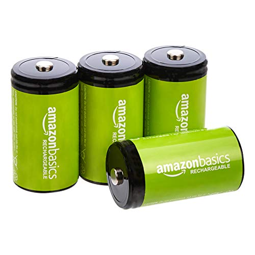 Amazonbasics D Cell Rechargeable