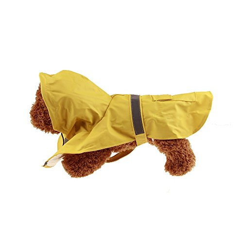V-Hao Dog Raincoats For Extra Large Dogs Water-Proof Dog Costumes Durable Reflective Pet (Tin Man Dog Costumes)
