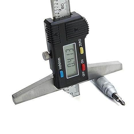 Amazon.com: 150 mm 6 inch Acero Inoxidable Calibre Vernier ...