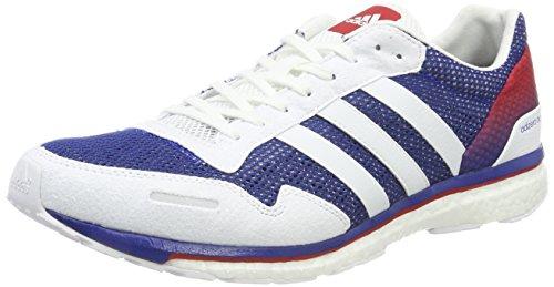 adidas Unisex-Erwachsene Adizero Adios AKTIV Fitnessschuhe, Blau Grau (Collegiate Royal/Ftwr White/Scarlet)
