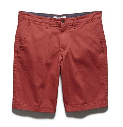 - Flag & Anthem Men's Memphis Shorts - Stretch Brushed Twill, 32, Nantucket Red