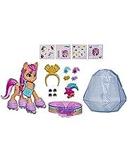 My Little Pony: A New Generation MovieCrystal Adventure SunnyStarscout- 3-Inch Orange Pony Toy, Surprise Accessories, Bracelet