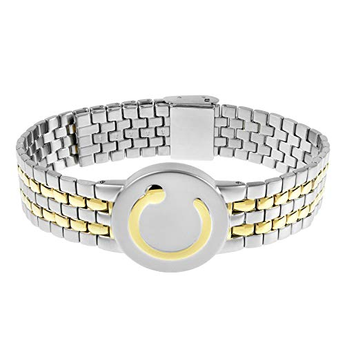 Elite Bracelet Two Tone, Mens 140-220mm