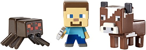 Minecraft Collectible Figures Spider 3 Pack