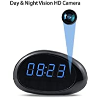 1080P Clock Hidden Camera Covert Nanny Cam P2P IP Security Cameras Night Vision Support Video Recorder By Cascade Point