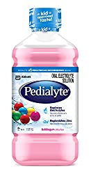 Pedialyte Oral Electrolyte Solution, Bubble Gum, 1-Liter, 8 Count