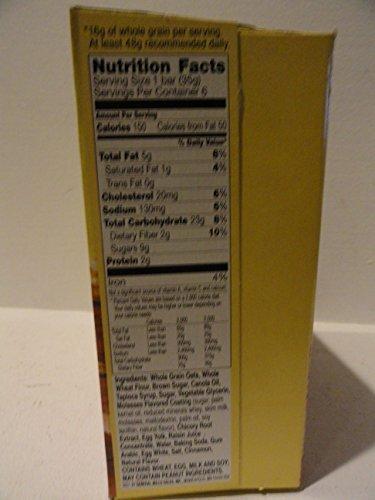 Nature Valley, Soft-Baked Oatmeal Squares, Cinnamon Brown Sugar, 7.44oz Box (...