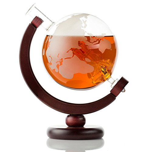 Etched Globe Decanter - 7