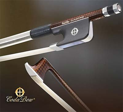 CodaBow Diamond NX Carbon Fiber Viola Bow