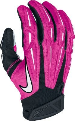 6b2d88feb33 Amazon.com   Nike Superbad Receivers Gloves Pink   Football Receiving Gloves    Clothing