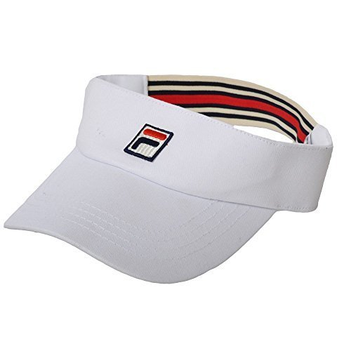 Fila Retro-Tennis-Gesichtsschutzschirm Weiß weiß