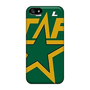 New Style RoccoAnderson Hard Cases Covers For Iphone 5/5s- Dallas Stars