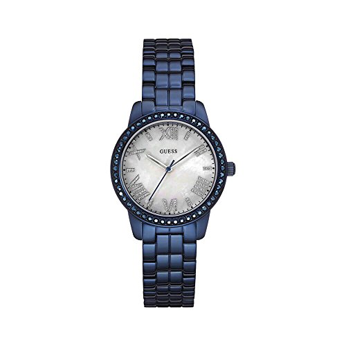 GUESS-W0444L4-Blue-Tone-Mother-of-Pearl-Dial-Glits-Womens-Watch
