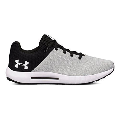 Under Armour Women's Micro G Pursuit, White/Black/White, 8.5 B(M) US
