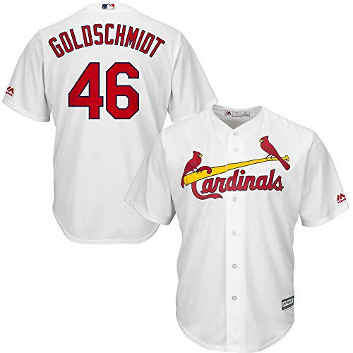 - Outerstuff Youth Kids St. Louis Cardinals 46 Paul Goldschmidt Home Player Jersey White Size 14-16 L