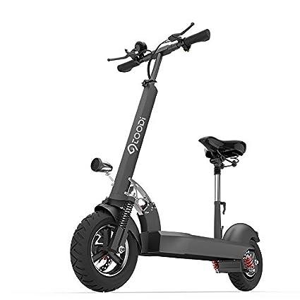 YAGUANGSHI Patinete eléctrico Scooter de Pedal para Adultos ...