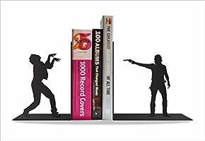 Suporte Aparador de Livros Dvd Cd Walking Dead - Fabricado Em Aço - Lindo Design