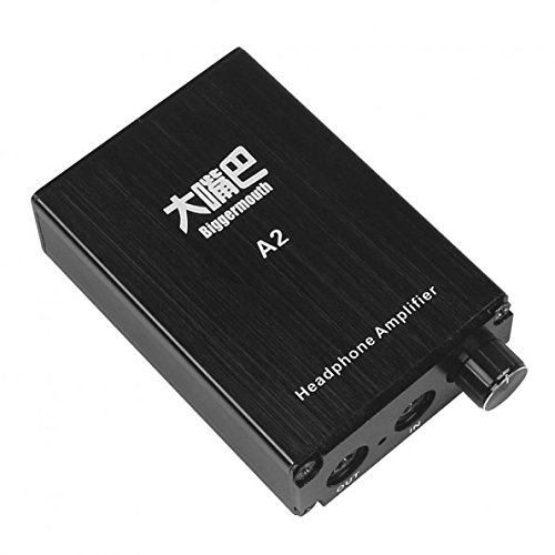 SainSonic A2 Class A Portable Headphone Amplifier 9V 680mA Black