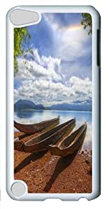 Apple iPod 5 Cases & Covers -Anchored to the shore Custom PC Hard Case Cover for Apple iPod 5/iPod Touch 5 White