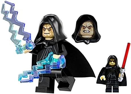 Lego Star Wars Minifigure Emperor Palpatine Darth Sidious From Death Star Final Duel Set 75093 Includes 2 Force Lightning Weapons And Red Lightsaber Amazon Co Uk Toys Games