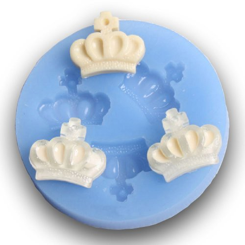 Yunko Silicone 3d Imperial Crown Fondant Silicone Sugar Craft Molds DIY Cake Decorating